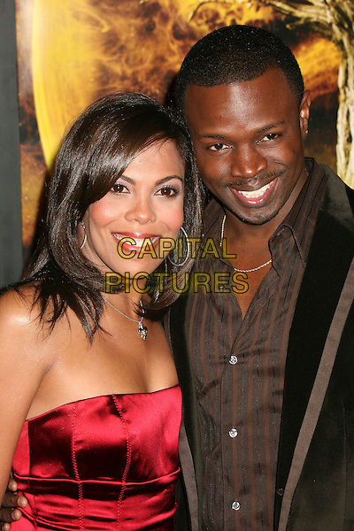 "AONIKA LAURENT & SEAN PATRICK THOMAS.AFI Centerpiece Gala Screening of ""The Fountain"" at Grauman's Chinese Theatre, Hollywood, California, USA, 11 November 2006..half length.Ref: ADM/BP.www.capitalpictures.com.sales@capitalpictures.com.©Byron Purvis/AdMedia/Capital Pictures."