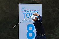 Matthew Baldwin (ENG) on the 8th tee during Round 2 of the Challenge Tour Grand Final 2019 at Club de Golf Alcanada, Port d'Alcúdia, Mallorca, Spain on Friday 8th November 2019.<br /> Picture:  Thos Caffrey / Golffile<br /> <br /> All photo usage must carry mandatory copyright credit (© Golffile | Thos Caffrey)