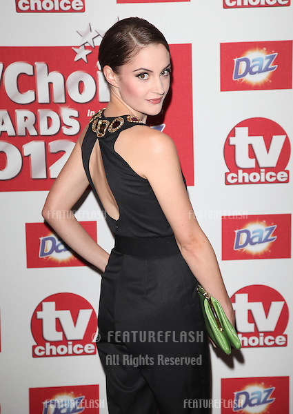 Paula Lane arriving for the 2012 TVChoice Awards, at the Dorchester Hotel, London. 10/09/2012. Picture by:  Alexandra Glen / Featureflash