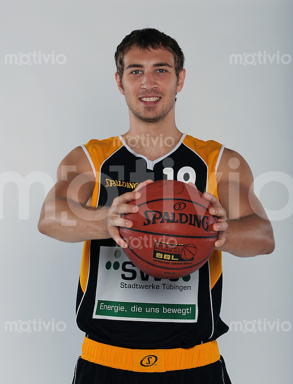 Basketball 1. Bundesliga  2008/2009   01.09.2008  Walter Tigers Tuebingen  Mirko Anastasov (WT)