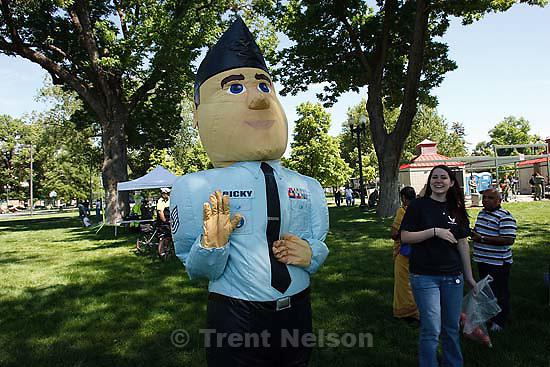 Salt Lake City - Air Force Week festivities at Pioneer Park Tuesday June 2, 2009..ricky