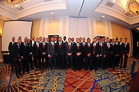 DC United  Team and Staff, at the 2011 Season Kick off Luncheon, at the Marriott Hotel in Washington DC, Wednesday March 16 2011.