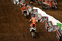 KTM Mini Challenge / SX50<br /> Monster Energy Aus-XOpen<br /> Supercross & FMX International<br /> Qudos Bank Arena, Olympic Park NSW<br /> Sydney AUS Sunday 12  November 2017. <br /> © Sport the library / Jeff Crow