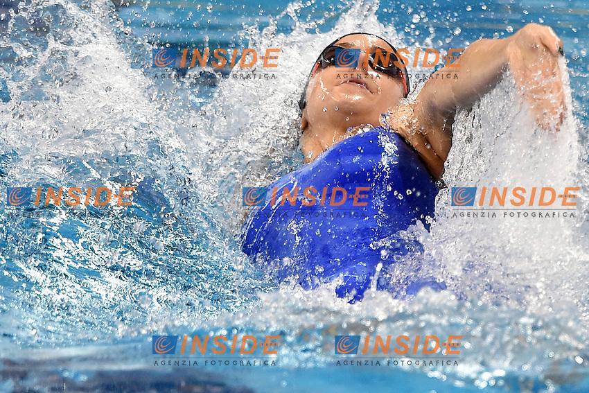 Arianna BARBIERI Ita Women's 50m Backstroke <br /> Doha Qatar 06-12-2014 Hamad Aquatic Centre, 12th FINA World Swimming Championships (25m). Nuoto Campionati mondiali di nuoto in vasca corta.<br /> Photo Andrea Staccioli/Deepbluemedia/Insidefoto