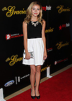 BEVERLY HILLS, CA, USA - MAY 20: G. Hannelius at the 39th Annual Gracie Awards held at The Beverly Hilton Hotel on May 20, 2014 in Beverly Hills, California. (Photo by Xavier Collin/Celebrity Monitor)