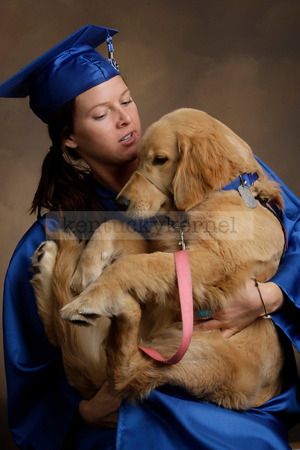 Horner, Natalie AND FAWN photographed during the Feb/Mar, 2013, Grad Salute in Lexington, Ky.