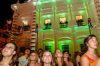 Extranjeros en la Noche del Dia del grito de la independencia 2008