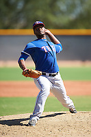 Texas Rangers pitcher Yonelvy Pichardo (88) during an Instructional League game against the Cincinnati Reds on October 4, 2016 at the Surprise Stadium Complex in Surprise, Arizona.  (Mike Janes/Four Seam Images)