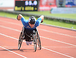 IPC European Athletics Championship 2014<br /> Swansea University<br /> <br /> Henry Manni (FIN) - men's 400m T34<br /> <br /> 22.08.14<br /> Chris Vaughan-SPORTINGWALES