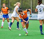 BLOEMENDAAL -   Pili Romang (Bldaal)  , Libera hoofdklasse hockey Bloemendaal-Pinoke (0-0). COPYRIGHT KOEN SUYK