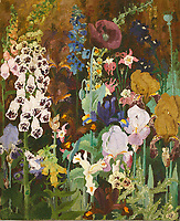 BNPS.co.uk (01202 558833)<br /> Pic: Sworders/BNPS<br /> <br /> 'Foxgloves' - lucky dip selection leads to £204,000 windfall.<br /> <br /> A painting that a friend of the British artist Sir Cedric Morris was allowed to take in a 'lucky dip' has sold for a record £204,000.<br /> <br /> The oil painting of foxglove flowers was pulled from out of the cellar at Sir Cedric's country house by the father of the vendor in the 1960s.<br /> <br /> Sir Cedric had apparently told the friend to 'have a dig around' in the basement to see what he could find.<br /> <br /> He took the 28ins by 23ins painting home with him and it remained in the family ever since.