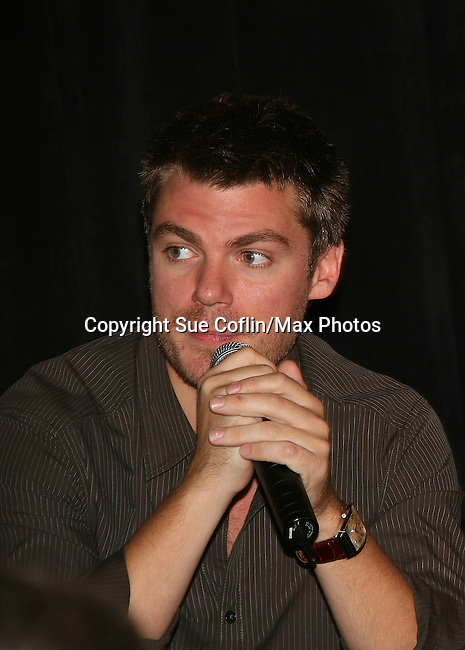 Jeff Branson -  So Long Springfield event brought out Guiding Light Actors as they  came to see fans at the Hyatt Regency in Pittsburgh, PA. for Q & A, acting scenes between actors and fans, and entertainment (singing) by GL finest during the weekend of October 24 and 25, 2009. (Photo by Sue Coflin/Max Photos)