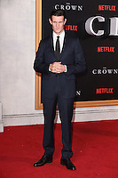 LONDON, UK. November 1, 2016: Matt Smith at the World Premiere of the Netflix series &quot;The Crown&quot; at the Odeon Leicester Square, London.<br /> Picture: Steve Vas/Featureflash/SilverHub 0208 004 5359/ 07711 972644 Editors@silverhubmedia.com