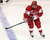 Gabriel Chabot (BU - 10) - The visiting Boston University Terriers defeated the Boston College Eagles 3-0 on Monday, January 16, 2017, at Kelley Rink in Conte Forum in Chestnut Hill, Massachusetts.