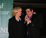 "Dale Badway and Missy Keene sing at The 29th Annual Jane Elissa Extravaganza which benefits The Jane Elissa Charitable Fund for Leukemia & Lymphoma Cancer, Broadway Cares and other charities on November 14, 2016 at the New York Marriott Hotel, New York City presented by Bridgehampton National Bank and Walgreens. General Hospital's Jacklyn Zeman is the Honorary Chairman. The event is a Cabaret with Broadway singers - James Barbor ""Phanom"" in The Phantom of the Opera"", Sean McDermott (Guiding Light) (Photo by Sue Coflin/Max Photos)"
