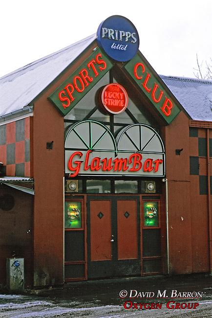 Glaum Bar, Reykjavik
