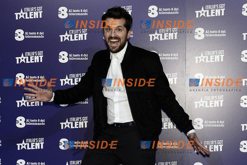 Milano 20-02-2017 - photocall trasmissione TV 'Italian's got talent' / foto Daniele Buffa/Image/Insidefoto  <br /> nella foto: Frank Matano