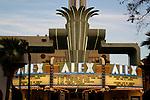 the art deco Alex Theater in Glendale. CA