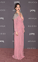 LOS ANGELES, CA - NOVEMBER 04: Actor Dakota Johnson attends the 2017 LACMA Art + Film Gala Honoring Mark Bradford and George Lucas presented by Gucci at LACMA on November 4, 2017 in Los Angeles, California.<br /> CAP/ROT/TM<br /> &copy;TM/ROT/Capital Pictures