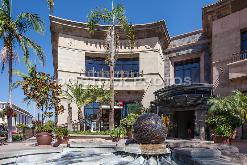 Quicksilver Retail Store on Prospect Street in La Jolla California