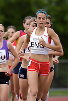 18 MAY 2008 - LOUGHBOROUGH, UK - Jo Ankier - 3000m Steeplechase - Loughborough International Athletics. (PHOTO (C) NIGEL FARROW)