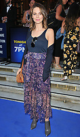 Kara Tointon at the &quot;The King and I&quot; play press night, The London Palladium, Argyll Street, London, England, UK, on Tuesday 03 July 2018.<br /> CAP/CAN<br /> &copy;CAN/Capital Pictures