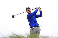 Niall Hearns (Mountrath) on the 16th tee during Round 2 of The East of Ireland Amateur Open Championship in Co. Louth Golf Club, Baltray on Sunday 2nd June 2019.<br /> <br /> Picture:  Thos Caffrey / www.golffile.ie<br /> <br /> All photos usage must carry mandatory copyright credit (© Golffile   Thos Caffrey)