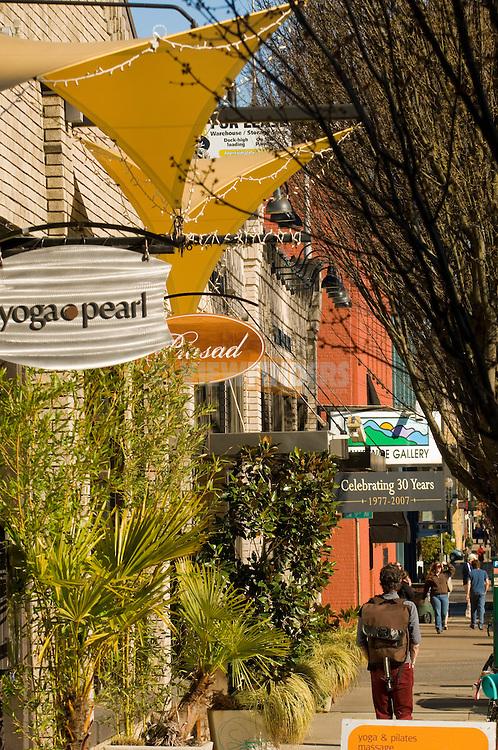 Yoga Pearl in the Portland Pearl District, Oregon