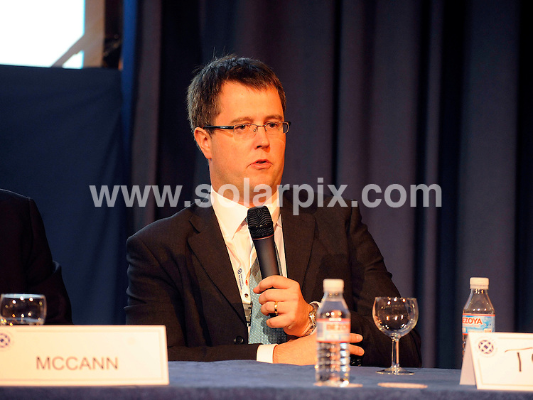 **ALL ROUND PICTURES FROM SOLARPIX.COM**.**WORLDWIDE SYNDICATION RIGHTS**.**Full copy from Tom Worden + 34 680152448.Gerry McCann father of missing child Madeleine McCann gave a speech and press conference today about  in Madrid Spain..This pic:Tudof..JOB REF: 10069         RAM       DATE: 06.10.09.**MUST CREDIT SOLARPIX.COM OR DOUBLE FEE WILL BE CHARGED**.**MUST NOTIFY SOLARPIX OF ONLINE USAGE**.**CALL US ON: +34 952 811 768 or LOW RATE FROM UK 0844 617 7637**