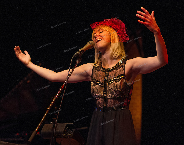 Sophie Norling performs with David's Angels at The Roundhouse Performance Centre, June 28, 2014 TD Vancouver International Jazz Festival