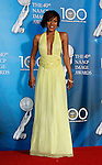 LOS ANGELES, CA. - February 12: Actress Wendy Raquel Robinson poses in the press room for the 40th NAACP Image Awards at the Shrine Auditorium on February 12, 2009 in Los Angeles, California.