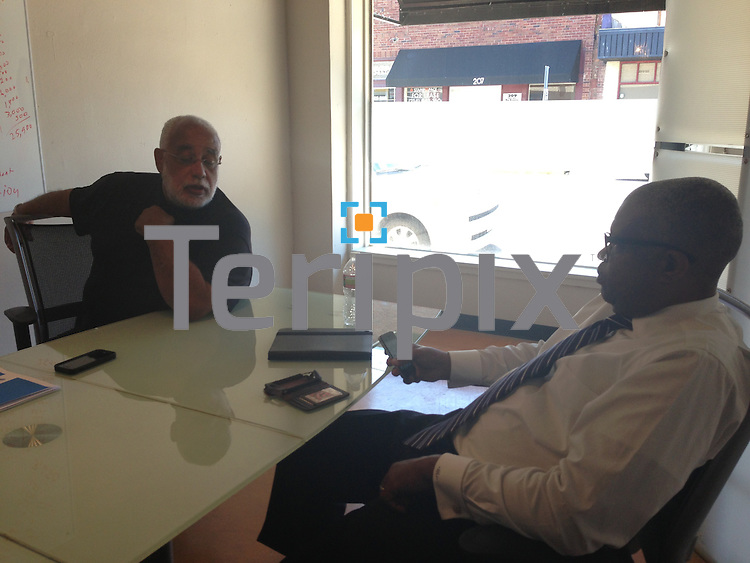 6/10/13 The Eventrapix team meets at their Dallas office.