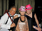 As The World Turns' Scott Bryce and wife and singer Jodi Stevens and singer Missy Keene celebrate  New Year's Eve 2016 at The Copacabana, New York City, New York. (Photo by Sue Coflin/Max Photos)  suemax13@optonline.net