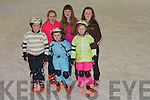 ...ICE:Skating on the Tralee on Ice Skate Ring on Saturday at the official opening were: Sean, Ellie and Jack McElligott, Claire Foran, Joan Walsh and Sandra Lynch...................   Copyright Kerry's Eye 2008