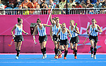 29/07/2012 - Argentina Vs South Africa - Womens Hockey - Riverside Arena - Olympic Park