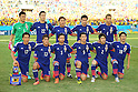 Japan team group line-up (JPN), <br /> JUNE 24, 2014 - Football /Soccer : <br /> 2014 FIFA World Cup Brazil <br /> Group Match -Group C- <br /> between Japan - Colombia <br /> at Arena Pantanal, Cuiaba, Brazil. <br /> (Photo by YUTAKA/AFLO SPORT)
