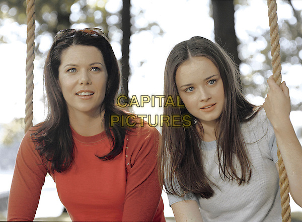 LAUREN GRAHAM & ALEXIS BLEDEL.in Gilmore Girls.Ref: FB.*Editorial Use Only*.www.capitalpictures.com.sales@capitalpictures.com.Supplied by Capital Pictures.