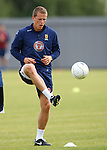 Christophe Berra training