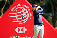 Masahiro Kawamura (JPN) on the 3rd tee during the 3rd round of the WGC HSBC Champions, Sheshan Golf Club, Shanghai, China. 02/11/2019.<br /> Picture Fran Caffrey / Golffile.ie<br /> <br /> All photo usage must carry mandatory copyright credit (© Golffile | Fran Caffrey)