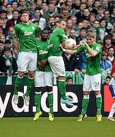 Fussball Bundesliga 2012/13: Bremen - Schalke