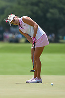 Lexi Thompson (USA) watches her putt on 4 during round 3 of the 2019 US Women's Open, Charleston Country Club, Charleston, South Carolina,  USA. 6/1/2019.<br /> Picture: Golffile | Ken Murray<br /> <br /> All photo usage must carry mandatory copyright credit (© Golffile | Ken Murray)