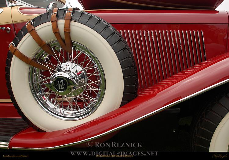 1932 Auburn 1250 Salon Phaeton, Side Detail, Pebble Beach Concours d'Elegance