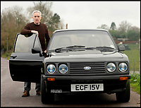 Father rebuilds his stolen Escort after 30 year wait.