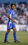 El Salvador's Juan Alexander Campos on Tuesday, March 27th, 2007 at SAS Stadium in Cary, North Carolina. The Honduras Men's National Team defeated El Salvador 2-0 in a men's international friendly.