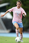 25 September 2011: North Carolina's Kealia Ohai. The University of Virginia Cavaliers defeated the University of North Carolina Tar Heels 1-0 in overtime at Fetzer Field in Chapel Hill, North Carolina in an NCAA Division I Women's Soccer game. UNC players wore special pink jerseys for the game to be auctioned off as part of a fundraiser for the UNC Lineberger Comprehensive Cancer Center.
