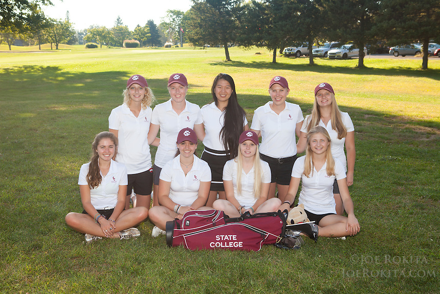 State College, PA - 09/16/2015:  State College High School Golf team photos.<br /> <br /> Photos by Joe Rokita / JoeRokita.com