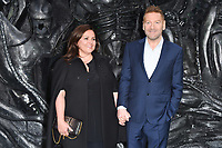 Sir Kenneth Brannagh &amp; Lindsay Brunnock at the world premiere for &quot;Alien: Covenant&quot; at the Odeon Leicester Square, London, UK. <br /> 04 May  2017<br /> Picture: Steve Vas/Featureflash/SilverHub 0208 004 5359 sales@silverhubmedia.com