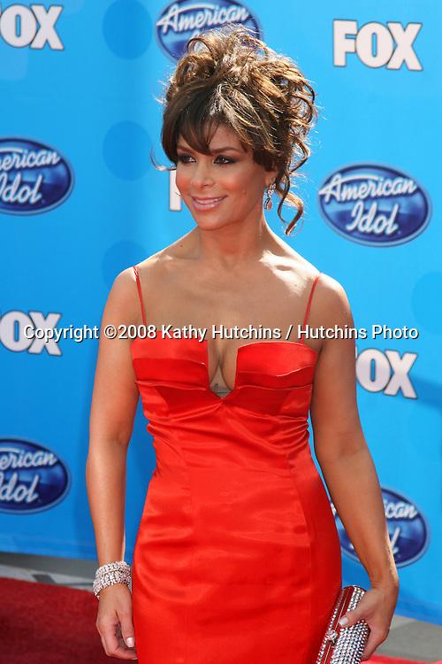 Paula Abdul.American Idol FInale 2008.Nokia Theater.Los Angeles,  CA.May 21, 2008.©2008 Kathy Hutchins / Hutchins Photo .