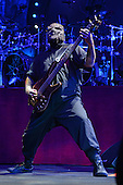 WEST PALM BEACH, FL - JULY 24: Alessandro Venturella of Slipknot performs at The Coral Sky Amphitheater on July 24, 2015 in West Palm Beach Florida. Credit Larry Marano © 2015