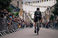 Adam Yates (GBR/Mitchelton-Scott) at the Team presentation in La Roche-sur-Yon<br /> <br /> Le Grand Départ 2018<br /> 105th Tour de France 2018<br /> ©kramon